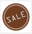Sale Icon Badge Label or Sticke vector image vector image