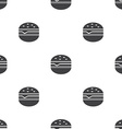 sandwich seamless pattern vector image