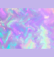 unicorn background with rainbow mesh fantasy vector image vector image