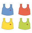 Cartoon Apparel set vector image