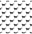 Cat pattern seamless vector image vector image