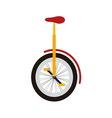 Monocycle vector image vector image