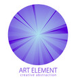 perfect art and design element of great lines vector image