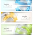 Set of tech banners vector | Price: 1 Credit (USD $1)