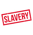 Slavery rubber stamp vector image