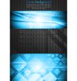 Vibrant tech business design vector image vector image