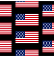 flag united states seamless pattern vector image vector image