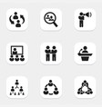 Set of 9 editable community icons includes