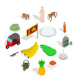 sri-lanka icons set isometric 3d style vector image vector image