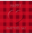 Bright Valentine s day background Poster and card vector image