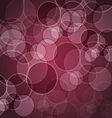 Abstract maroon background with circles vector image vector image