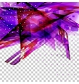 Colorful abstract wave design vector image