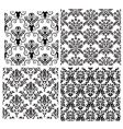 Damask backgrounds set vector | Price: 1 Credit (USD $1)