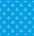 designer tool pattern seamless blue vector image vector image