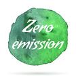 environmental eco label vector image