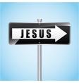jesus christ vector image