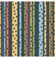 pattern strips stars vector image