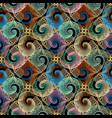 Spirals seamless pattern ornamental abstract