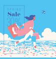 spring sale banner sale poster sale flyer 30 vector image vector image