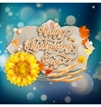 Thanksgiving Day EPS 10 vector image vector image