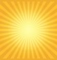 vintage sun flare background vector image