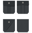 Back pocket set vector image
