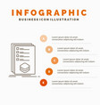 categories check list listing mark infographics vector image