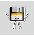floppy character design vector image