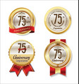 golden badge anniversary collection 75 years