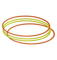 green and red bangles on white background