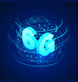high speed 6g global mobile networks business vector image vector image