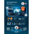 ininfographics set technology Graphics vector image