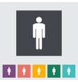 Male gender sign vector image vector image