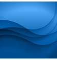 blue template abstract background vector image vector image