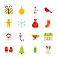 Christmas Holiday Objects vector image