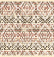 native american style fabric patchwork wallpaper vector image vector image