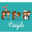 Romantic day design vector image vector image