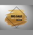 sale banner design promo banner vector image