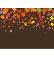 Falling multicolor autumn leaves EPS 8 vector image vector image
