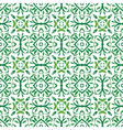 Green leaves pattern vector image vector image