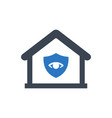 home safety guard icon vector image vector image