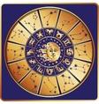 Horoscope circleZodiac sign with constellations