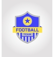 logo template soccer football team vector image vector image