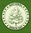 national arbor day-03 vector image
