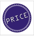Price Icon Badge Label or Sticke vector image vector image