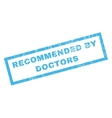 Recommended By Doctors Rubber Stamp