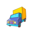 Truck delivery icon in cartoon style vector image vector image