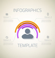 Web Infographic Timeline Pie Template Layout With vector image vector image