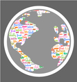 Nice world symbol vector image