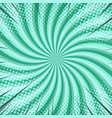 abstract radial bright comic background vector image vector image